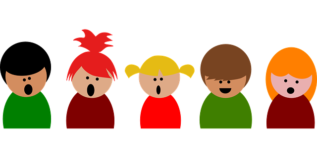 Kids singing - Coffe/pixabay/public domain