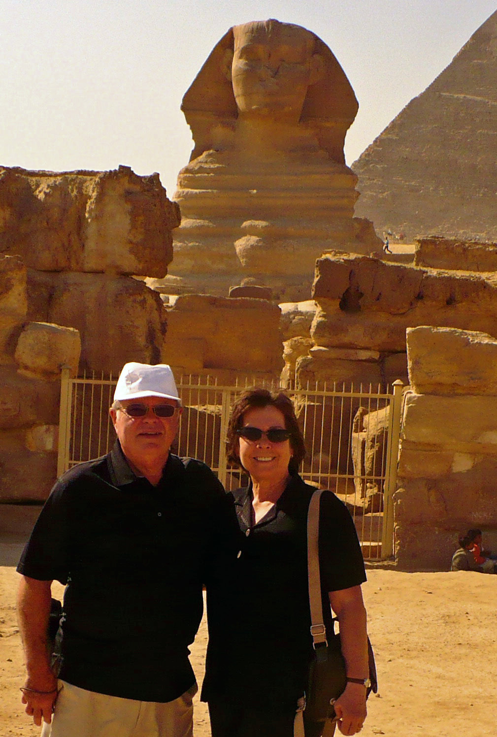 The Sphinx and Great Pyramid