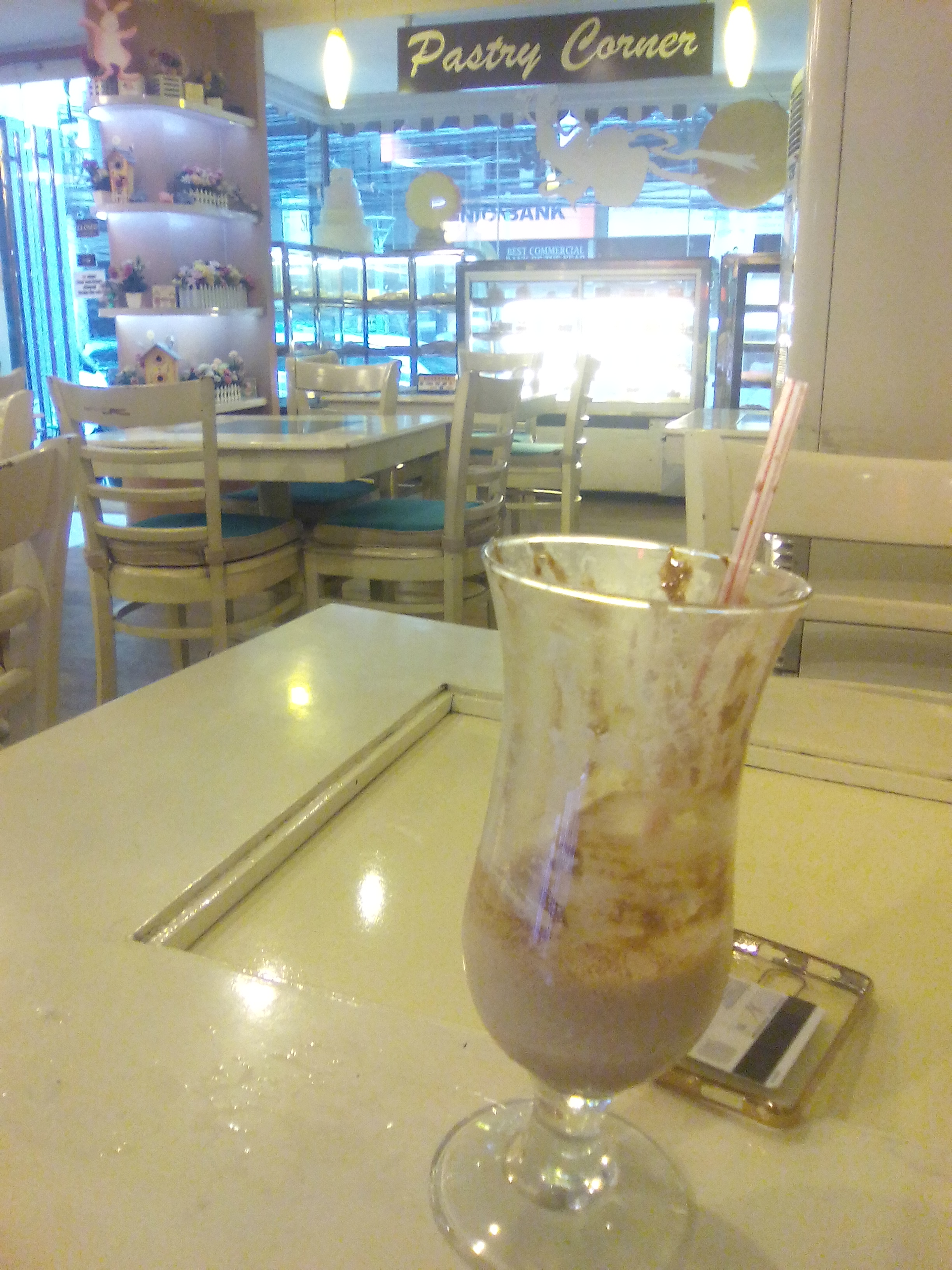Me and my frappe alone