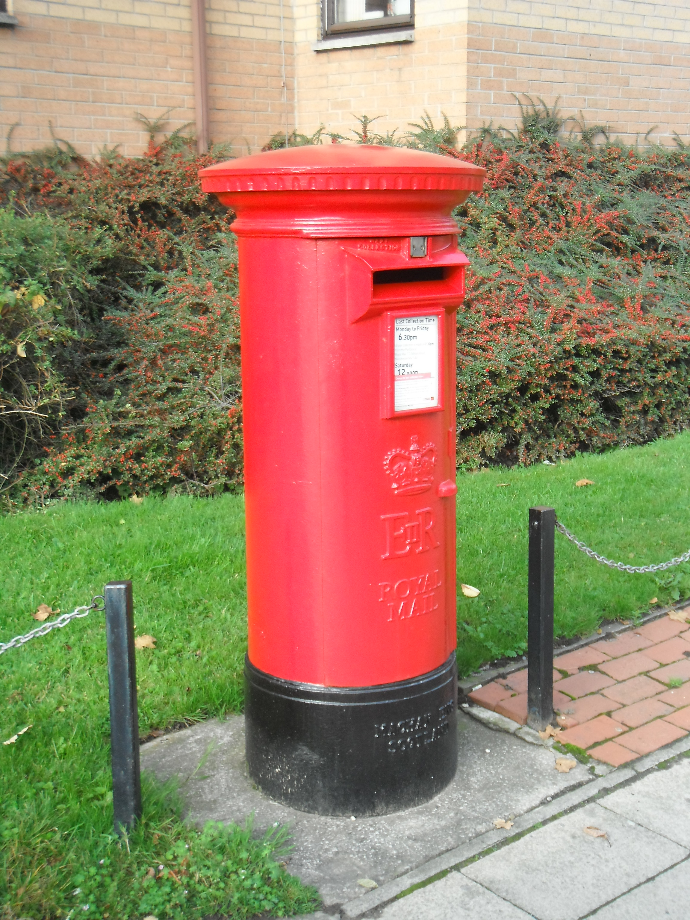 Photo taken by me – Post Box