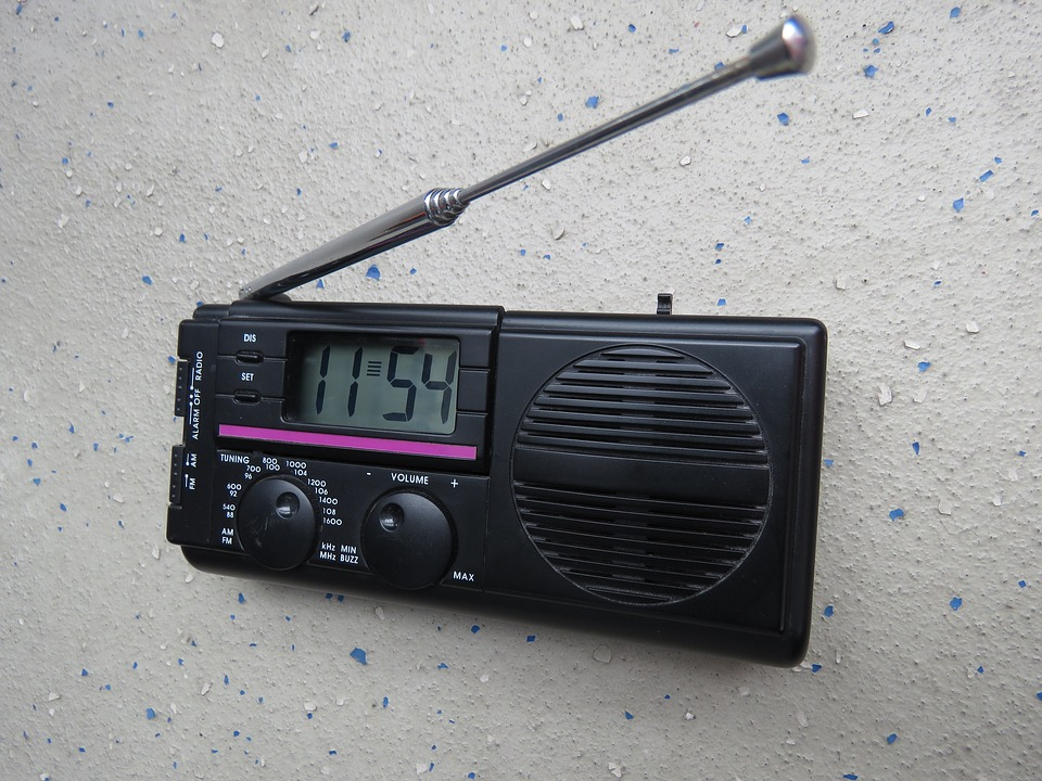 Is the radio set ever affected by the radio stations it receives?