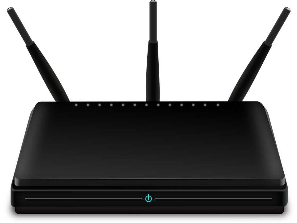 router Picture courtesy of Pixabay
