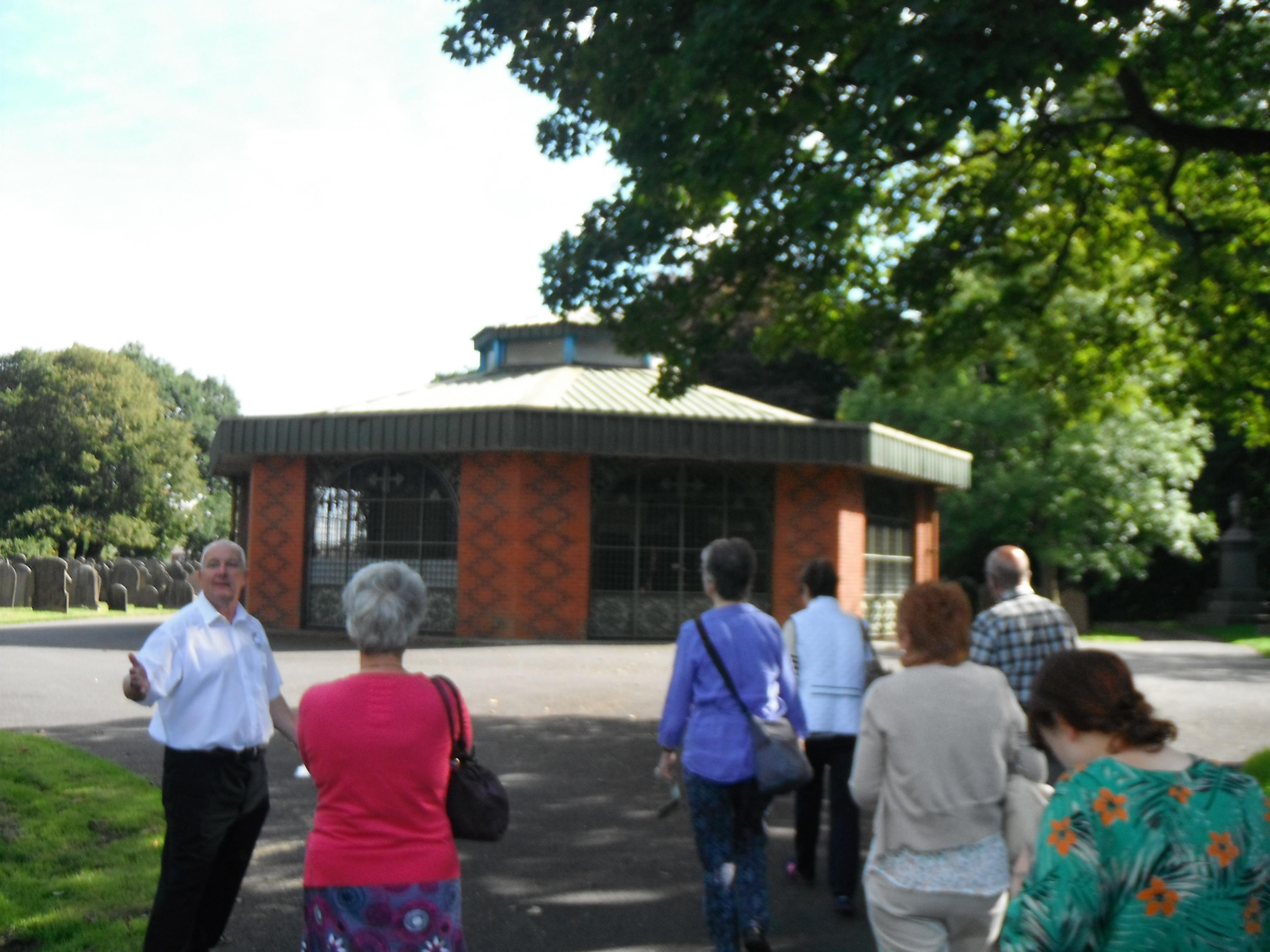 Photo taken by me - Muslim prayer house, Preston cemetary