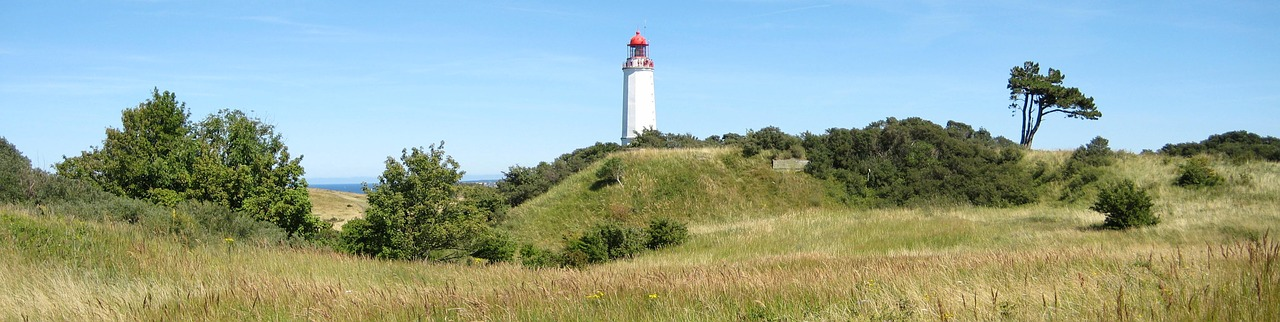 Hiddensee lighthouse, Germany, from Pixabay