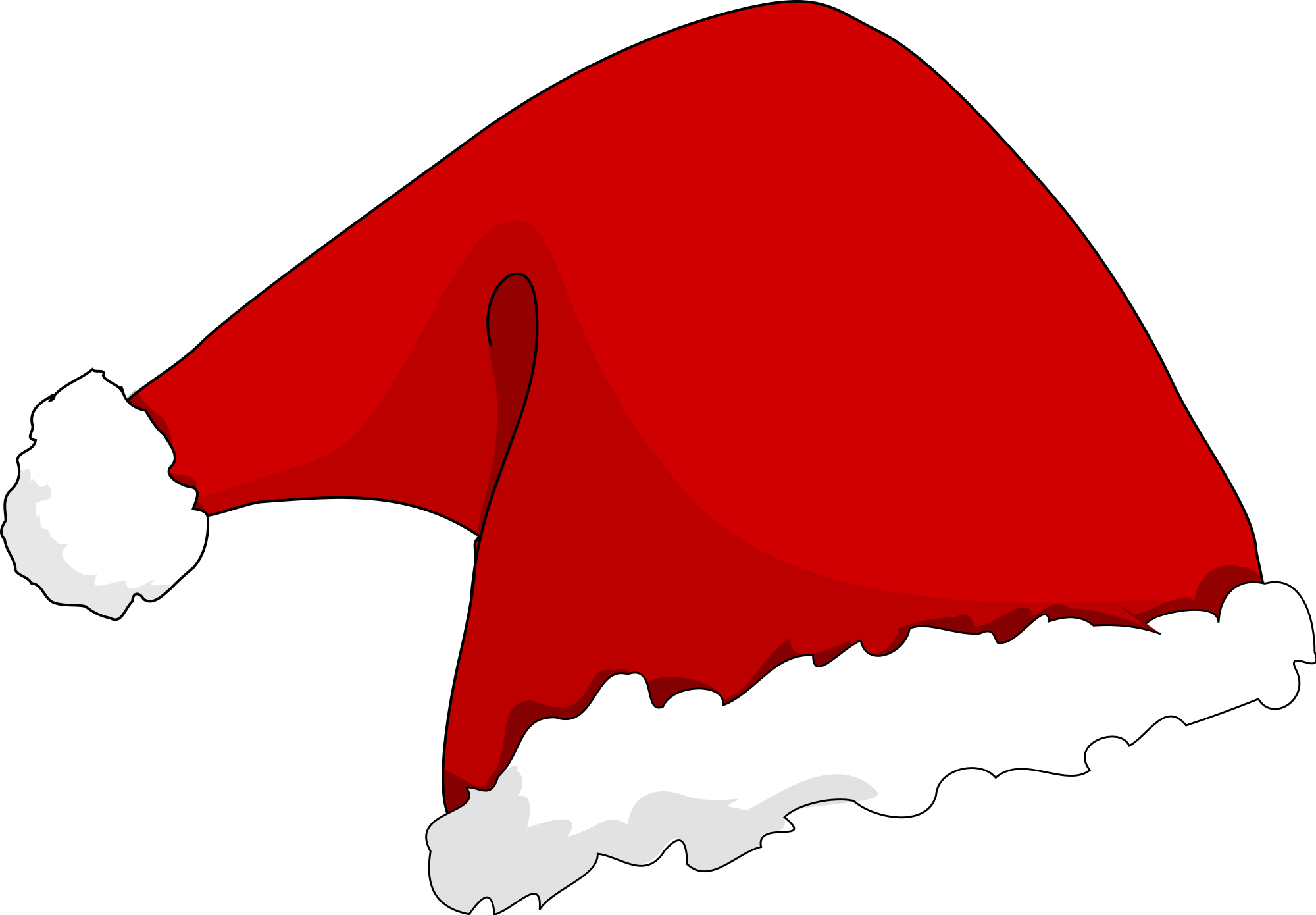 https://commons.wikimedia.org/wiki/File:Santa_hat.svg