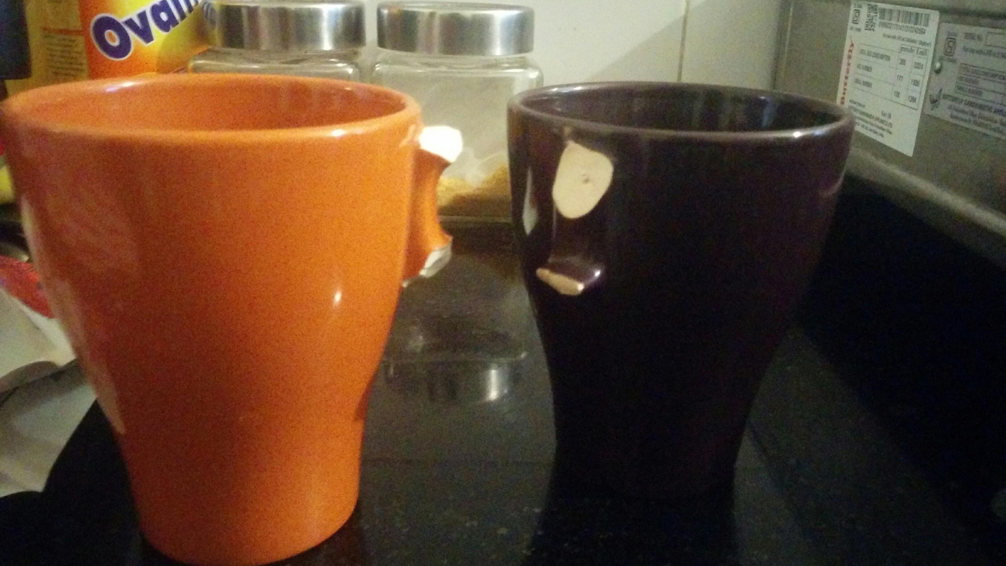 Cup, break