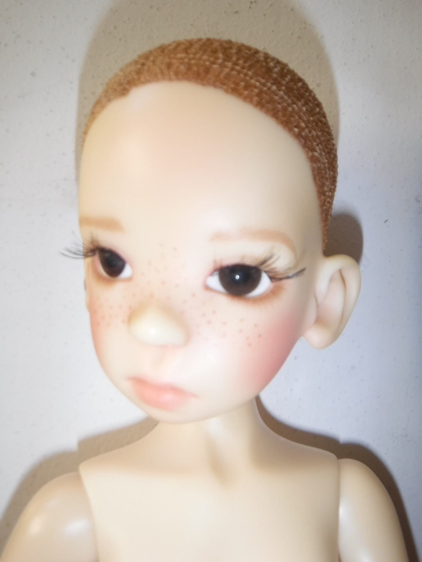 One of my Mom's Ball Jointed Dolls, Fair Skinned Nelly