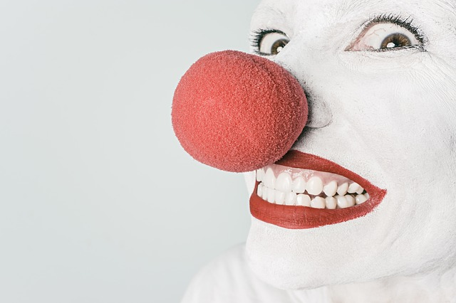 https://pixabay.com/en/clown-comedian-nose-circus-funny-362155/