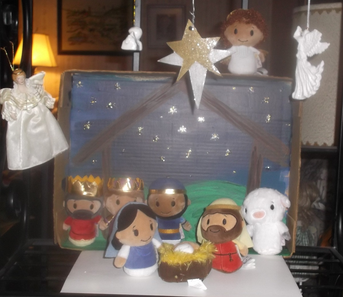 Nativity set up last year