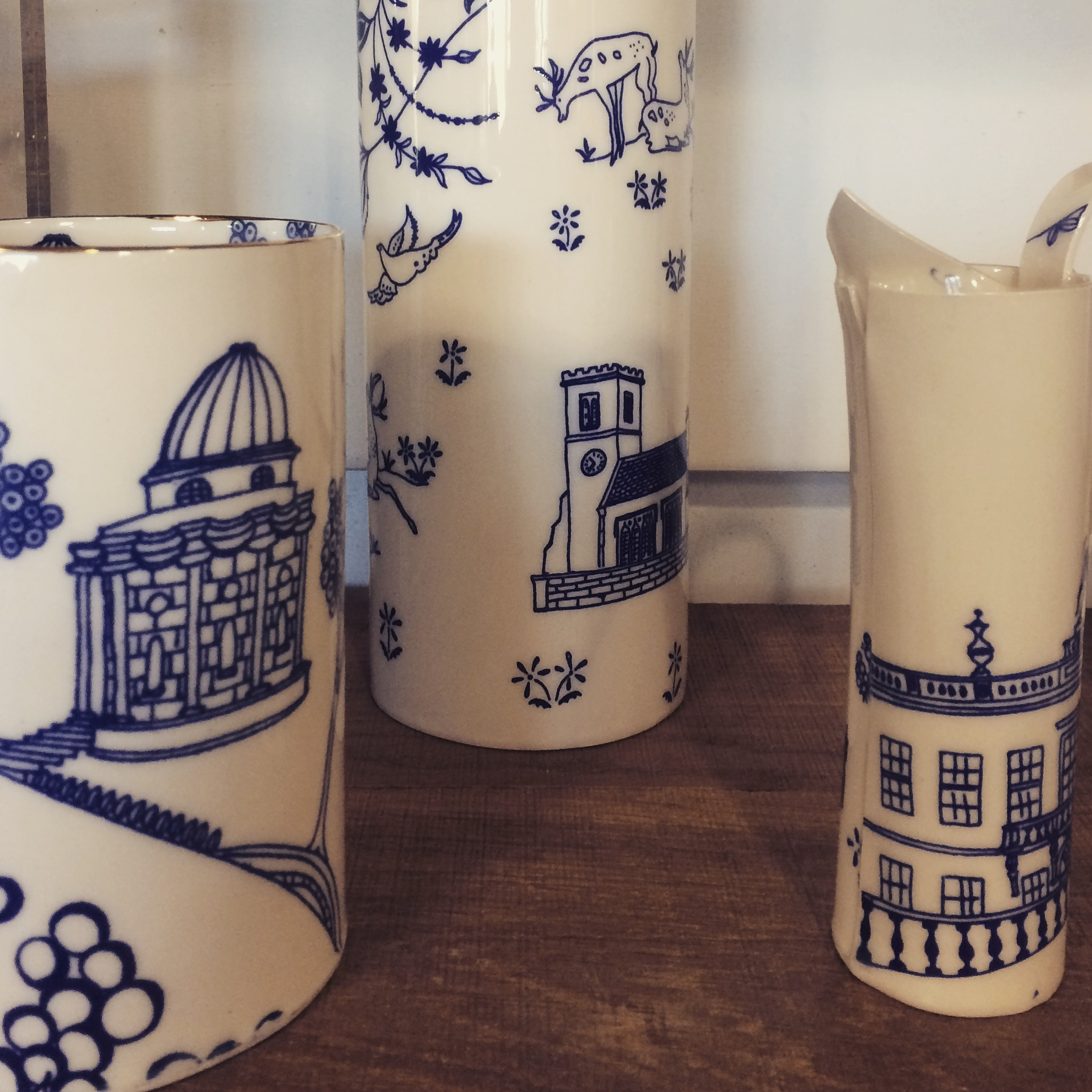 Some beautiful jugs to add some colour