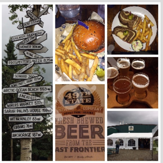 Collage of 49th State Brewery