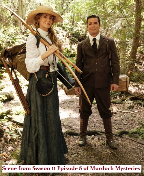 William and Julia Murdoch Mysteries