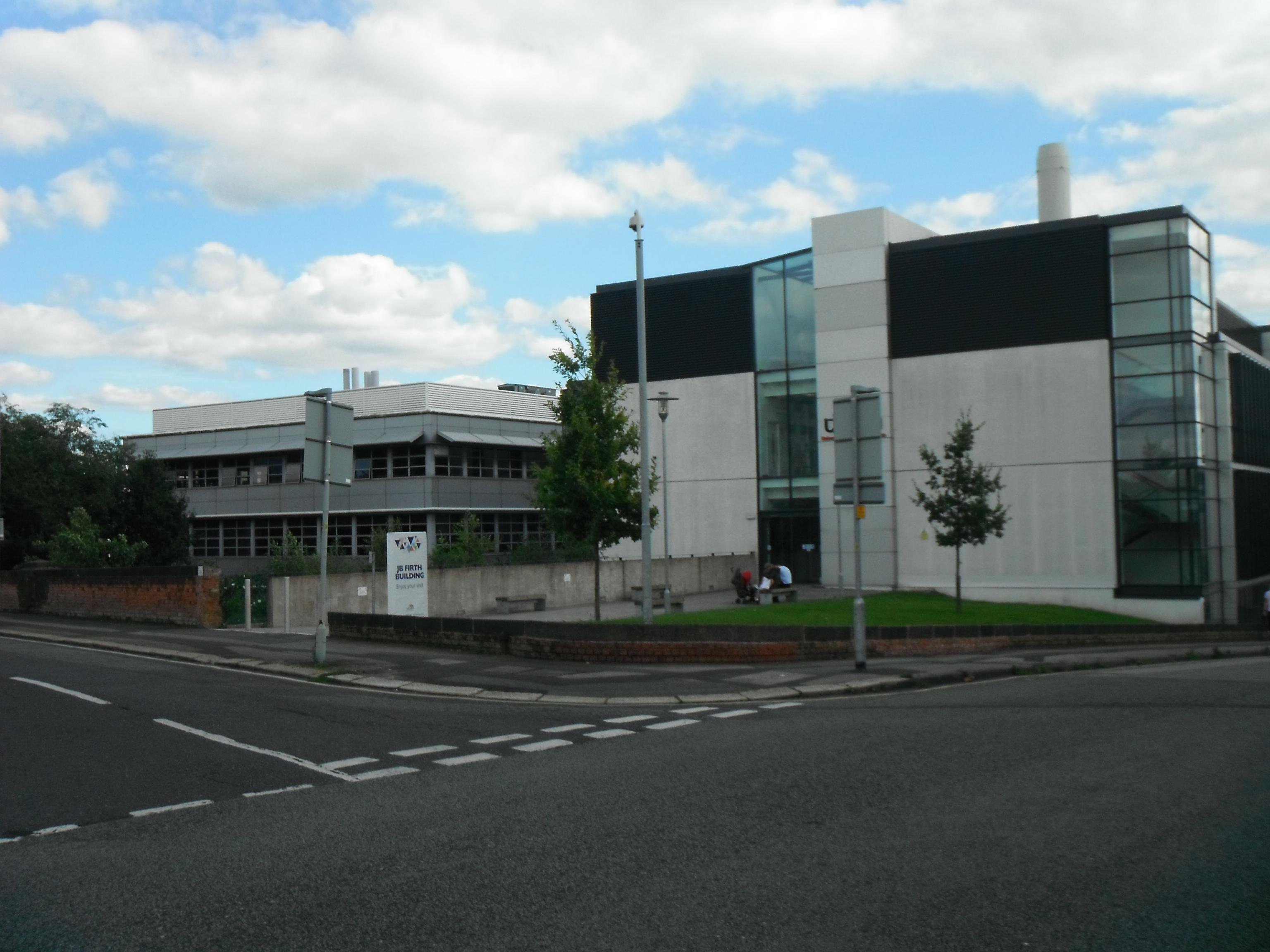 Photo taken by me – the University Of Lancashire campus