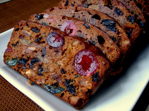homemade fruitcake is so good mylot
