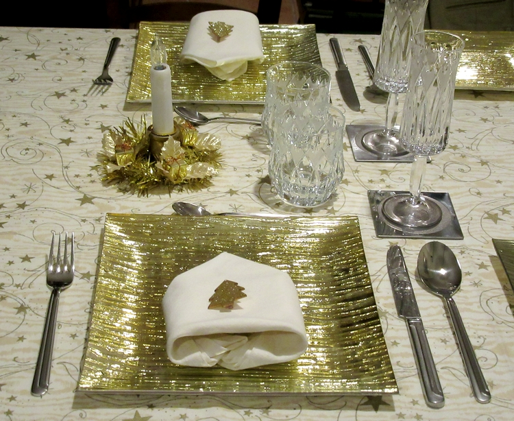 Image by LadyDuck  - Dressed table for New Year