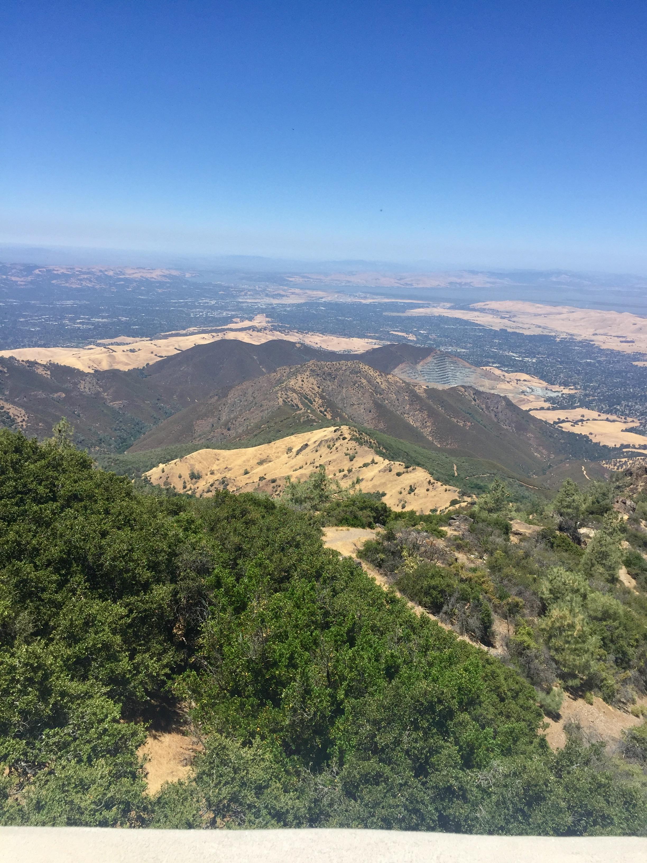 I took that pic in Mount Diablo last July!
