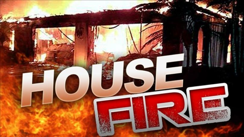 House fire image
