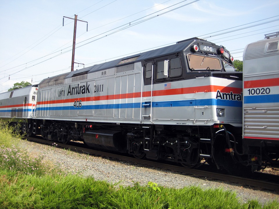 three amtrak crashes in two months. Image Pixaby