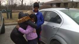 Richardson family thankful for the help of a complete stranger in Ohio
