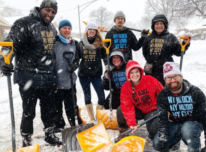 My Block, My Hood, My City volunteers