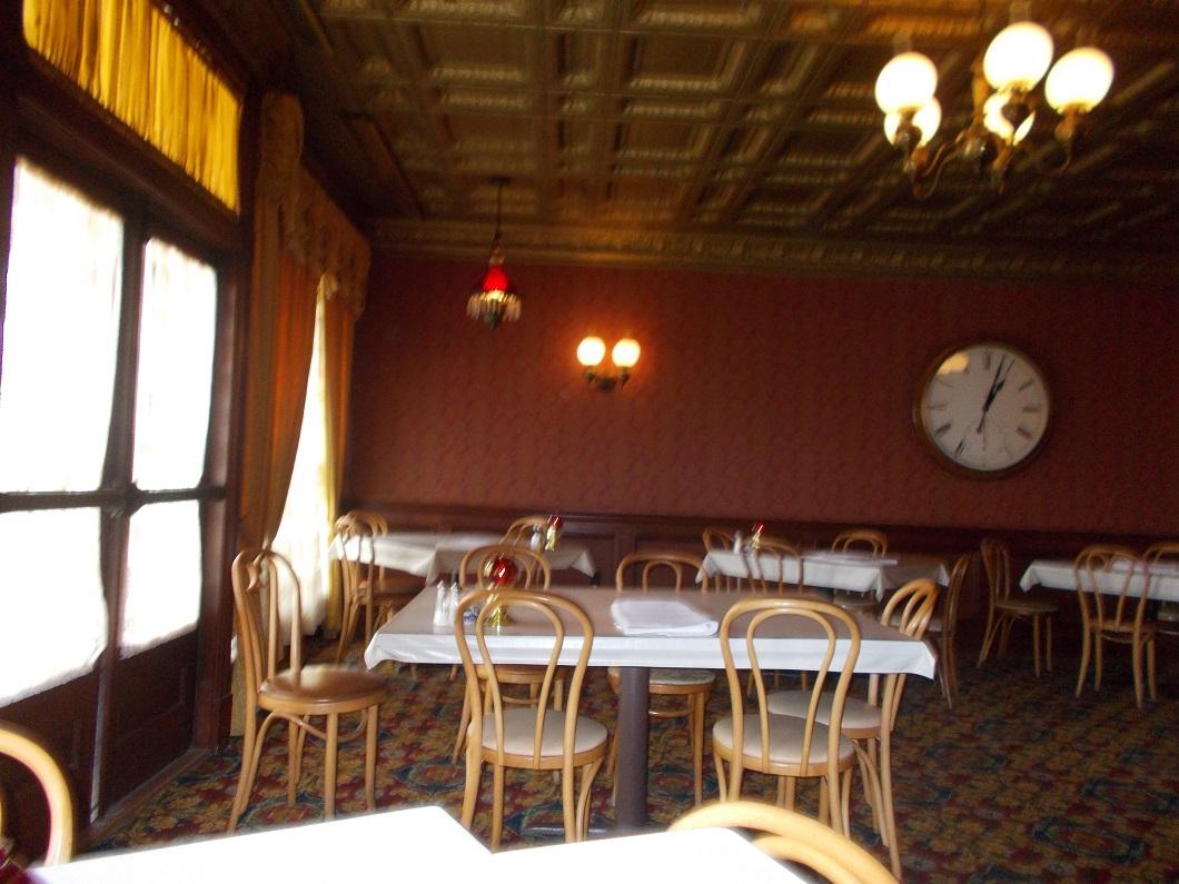 bankroom dining room at Brookville