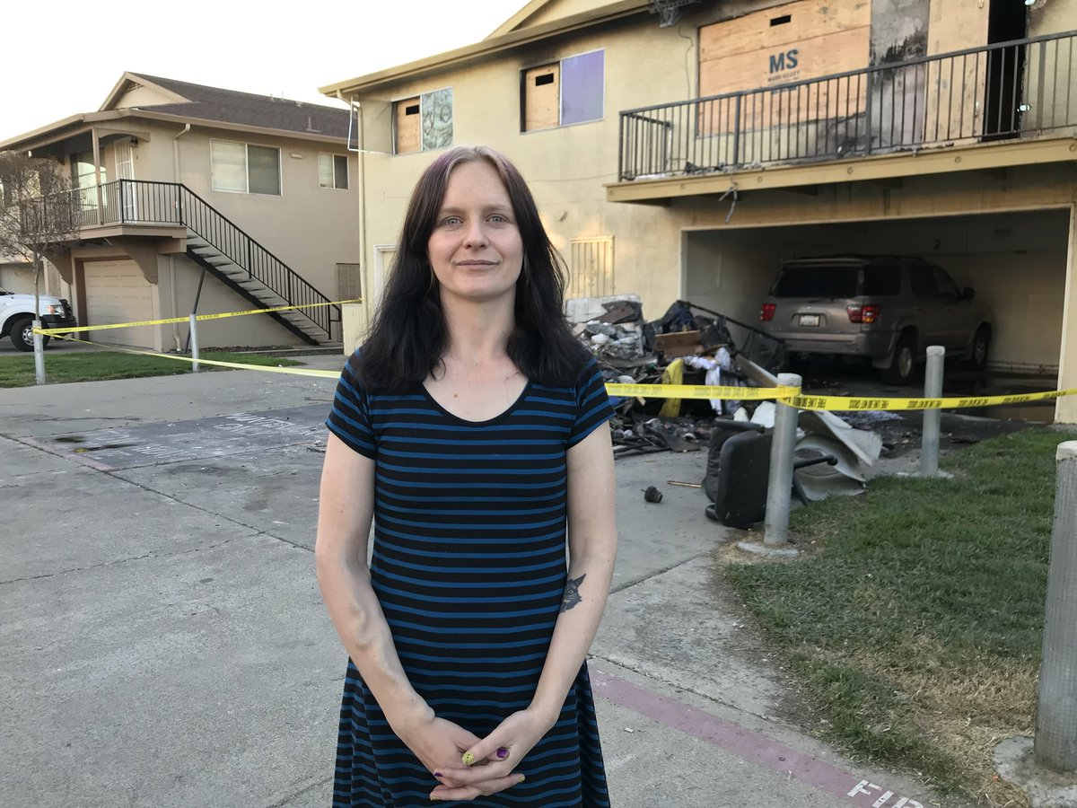 Samantha Barnhouse a real heroine who saved an elderly man from a house fire