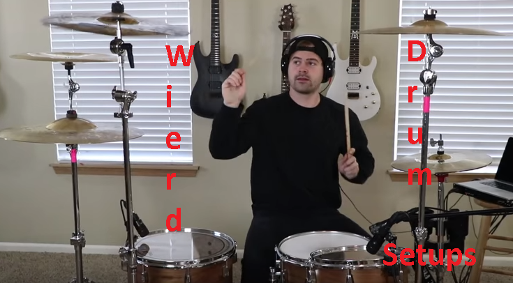 weirddrumsetups