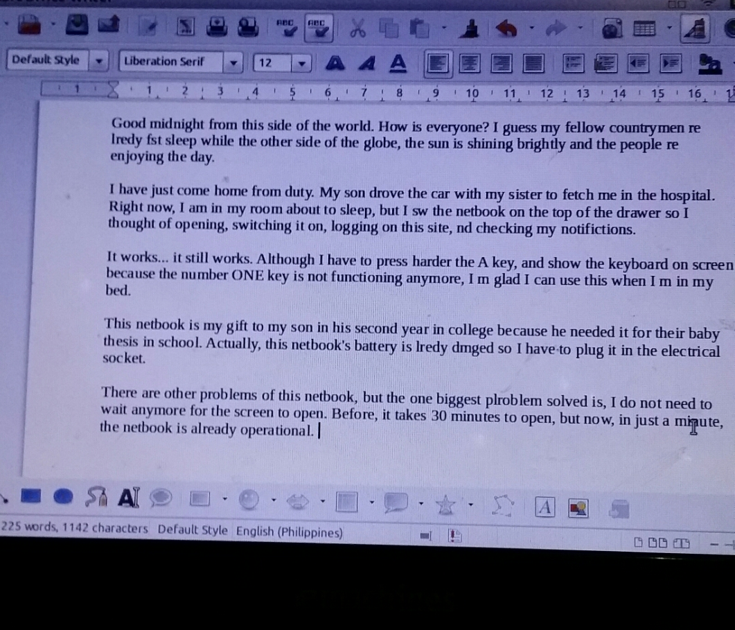 my discussion on netbook