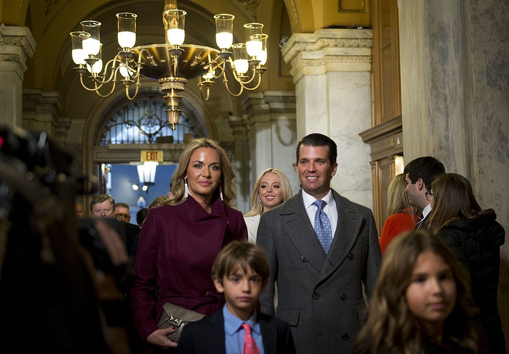 Donald Trump Jr and wife divorcing Image:[Wikimedia Commons U.S. Air Force Staff Sgt. Marianique Santos]