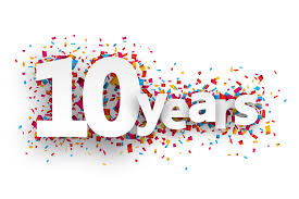 anniversary, 10 years