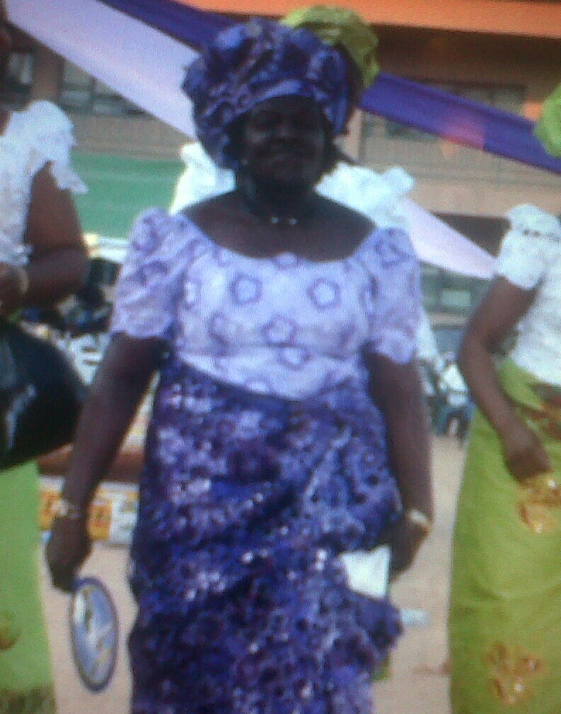 My mum during my sister's wedding