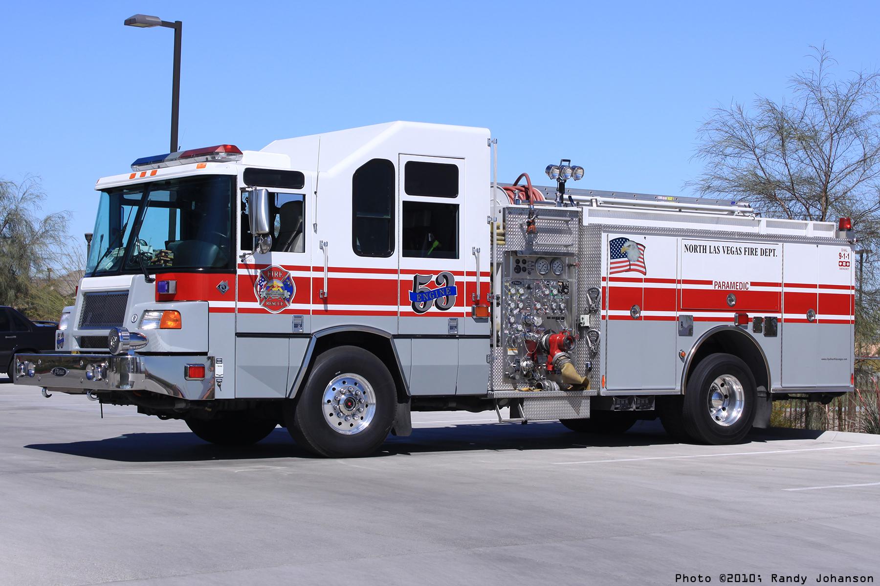 Las Vegas Firetruck