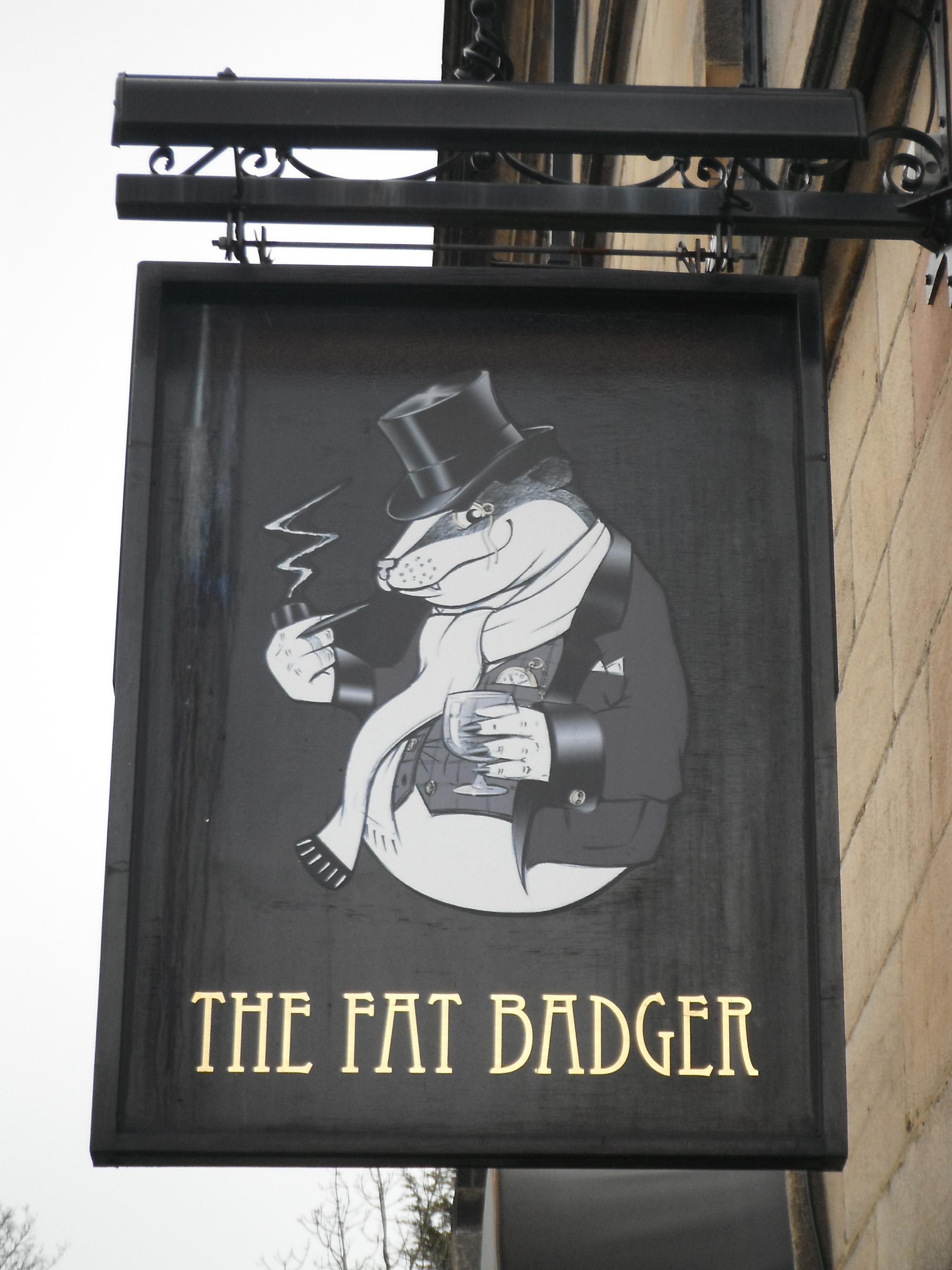 Photo taken by me – The Fat Badger Bar, Harrogate