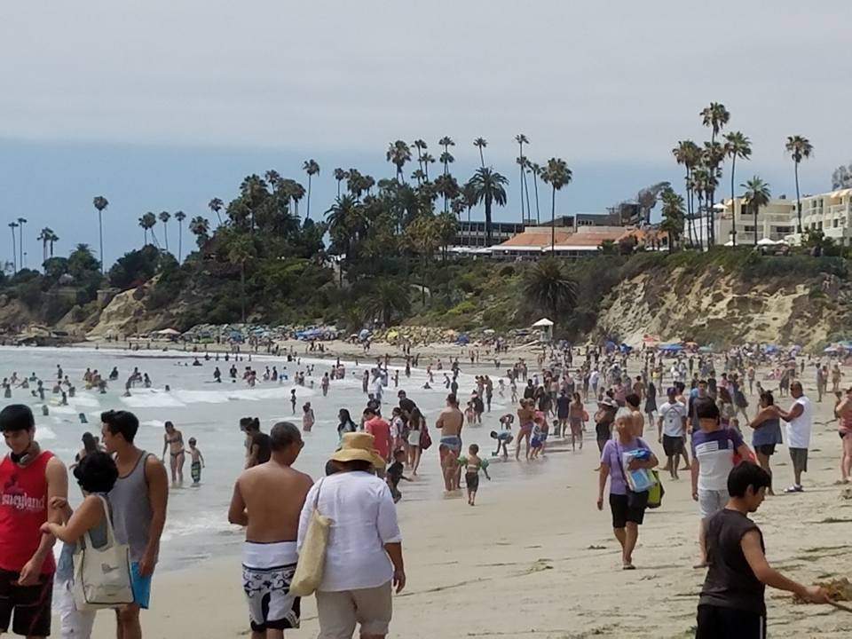 Photo of Laguna Beach taken by author; all rights reserved.