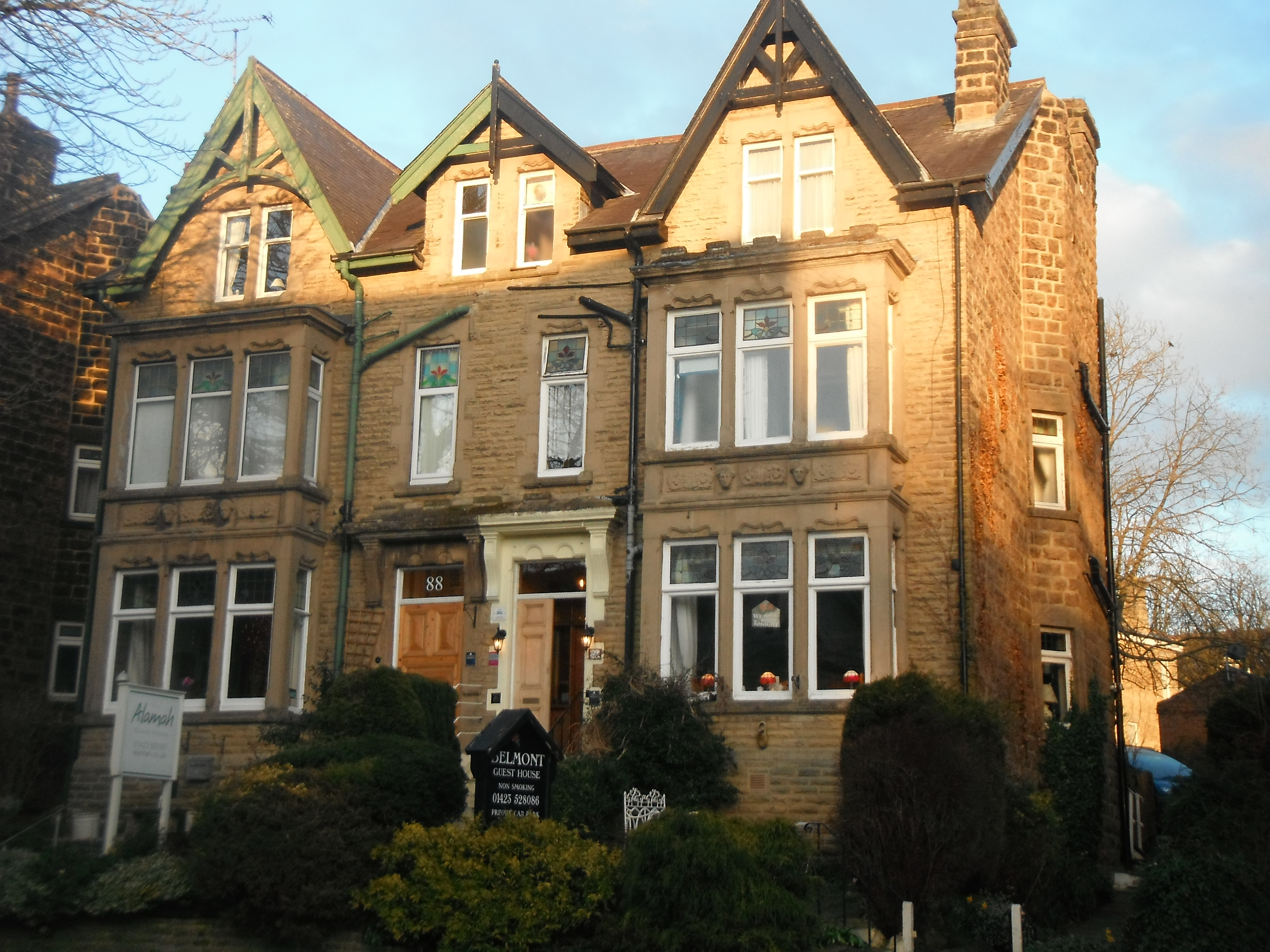 Photo taken by me – The Belmont Guest House, Harrogate