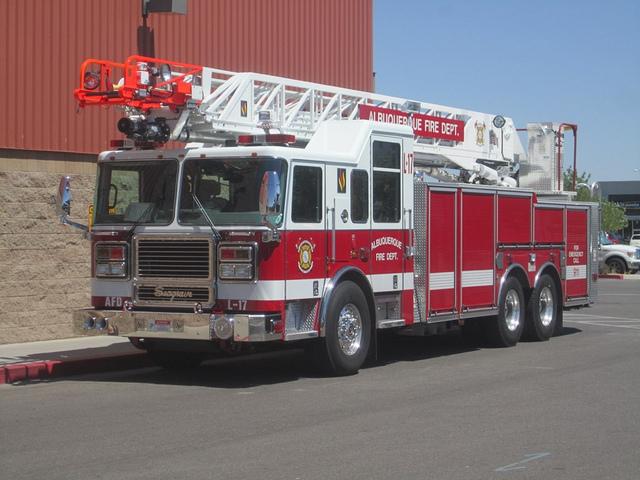 Albuquerque Firefighter truck