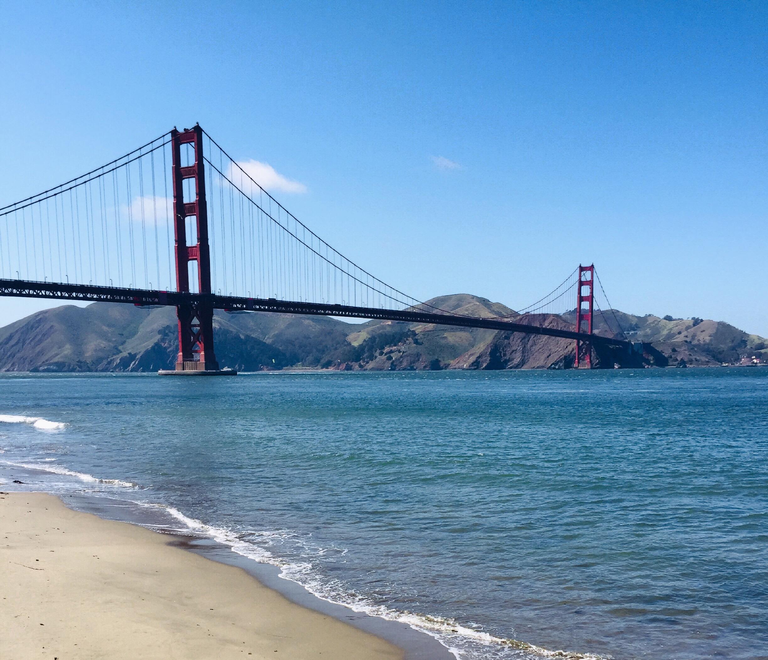 Majestic Golden Gate Bridge!