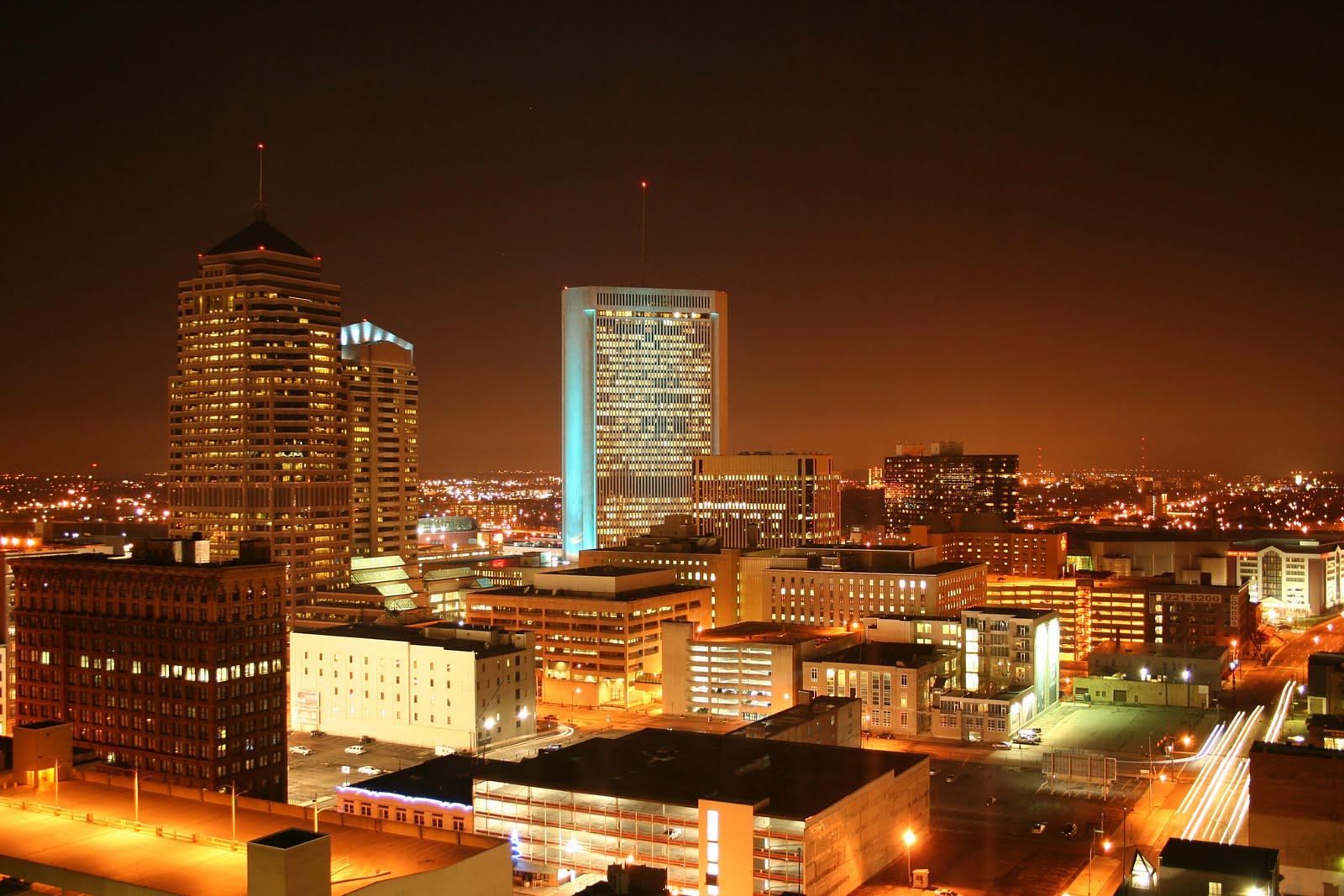 City skyline of Columbus Ohio