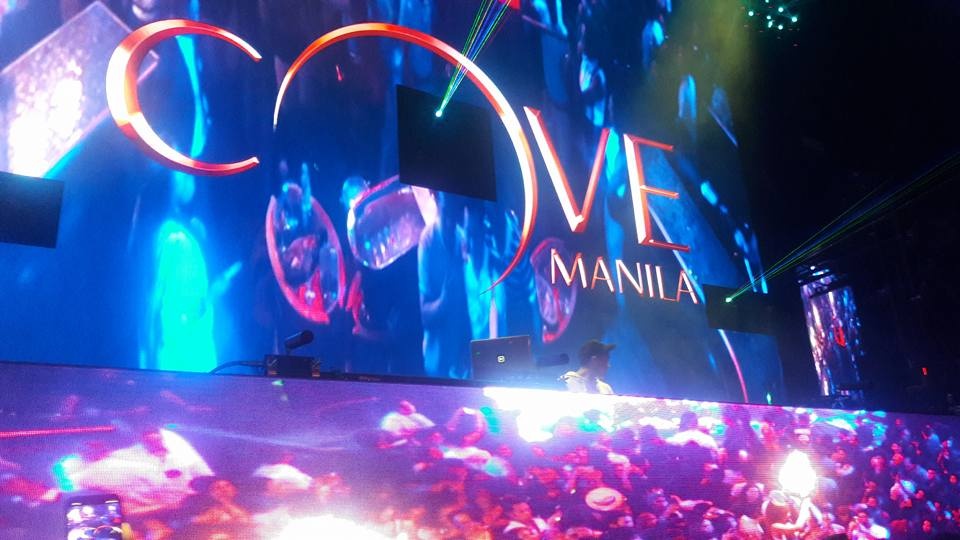 I went here in Cove Manila of Okada for 4 times already because the music that I want usually performed here.