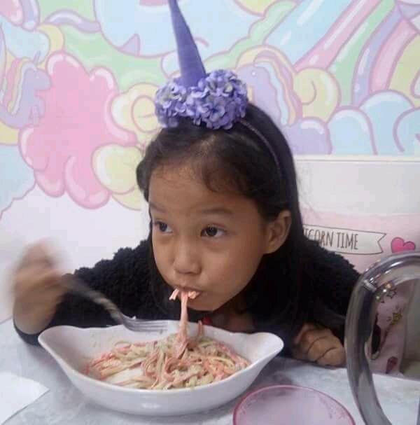 The birthday celebrant