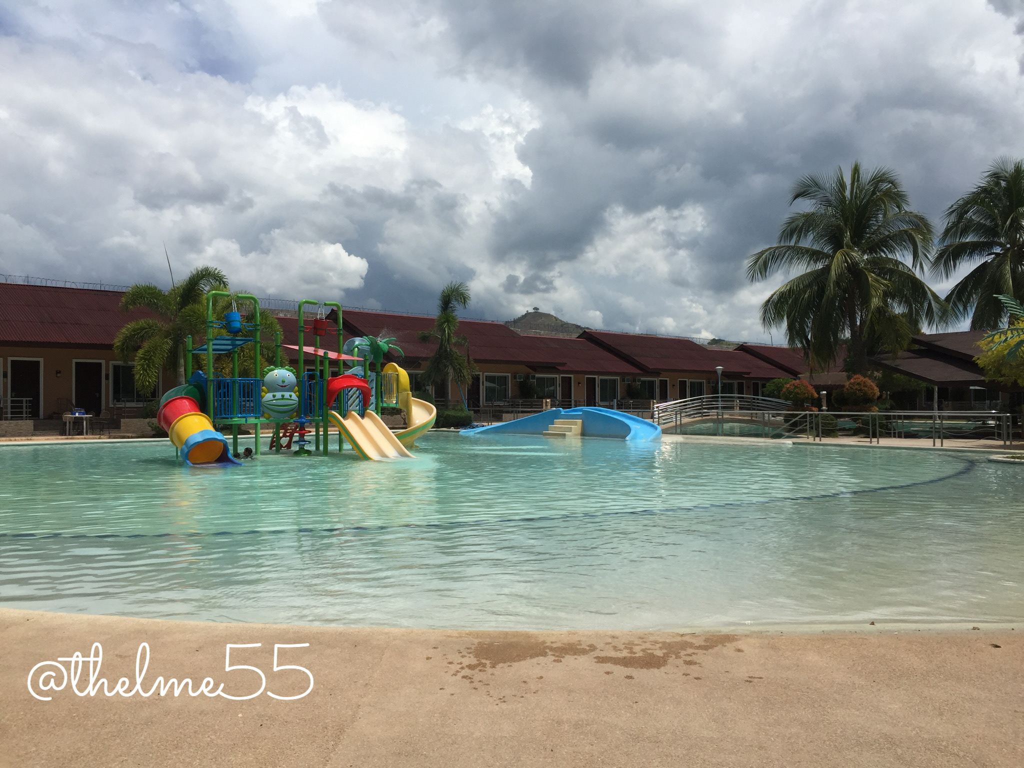 Amontay beach resort swimming pool.