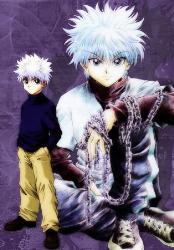 My Favorite Character from HxH - He's Killua, my favorite character from the anime Hunter X Hunter. He has a unique quality of an assassin. He is silent but deadly yet he still have a quality of being a good companion to his team mates.