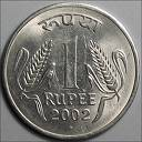 our currency... 1 rupee coin - currency, rupee coin, of india