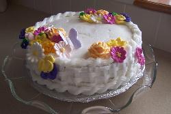 cake - Easter basket cake