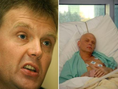 poisoned spy - a photo of the russian spy poisoned in London 2 weeks ago