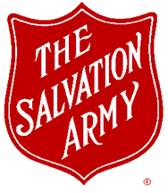 salvation army - this is an image of the logo for the Salvation Army