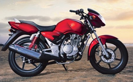 Apache - TVS Apache has taken aim at Honda Unicorn, which currently occupies the premium bike market along with the Pulsar. The 150cc five-speed TVS Apache bike was launched by TVS Motor in March 2006.