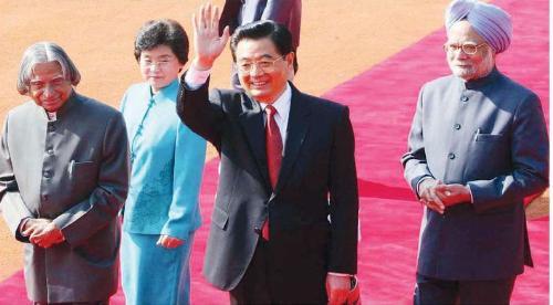 President visit - Chinese President visits Delhi