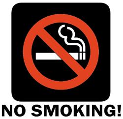 No smoking! - Smoking kills, let's just protect life!