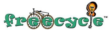 Freecyle Logo - image of the freecycle logo